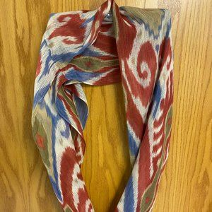 Polyester infinity scarf